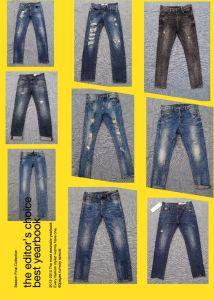 9.3oz High Rise Jeans for Men (HS-28601T) pictures & photos