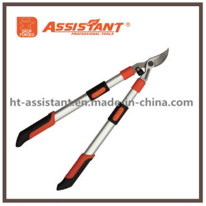 Telescopic Aluminum Handles Teflon Coated Drop Forged Bypass Pruning Lopper pictures & photos