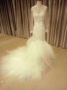 2017 Spring Collection Real Dress Custom Made Wedding Dress (Dream-100100) pictures & photos