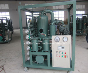 Double-Stage Vacuum Degassing Dehydratioin Transformer Oil Filtration Machine (ZYD) pictures & photos