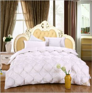 Home Bedding Inner White 90% Goose Down Quilt pictures & photos