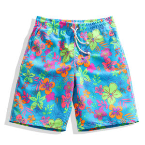 Wholesale Men Printed Shorts Swim Summer Beach Shorts pictures & photos