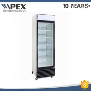 Dynamic Cooling System Single Door Upright Cooler pictures & photos