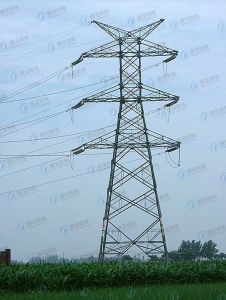 Hot-DIP Galvanized Steel Power Transmission Tower pictures & photos