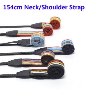Colorful Leather 154cm Adjustable Universal Neck Shoulder Camera Strap pictures & photos