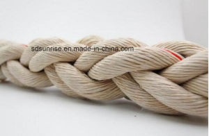 PP Mega Rope 8 Strands Beige with Red pictures & photos