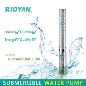 """Low Price 3"""" 750W 1HP Cast Iron Outlet&Inlet Copper Wire Deep Well Submersible Bomba Borehole Pump (75QJD1-19/0.75kW) pictures & photos"""