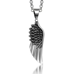 Angel Wings Necklace Pendant Titanium Steel Fashion Jewelry pictures & photos