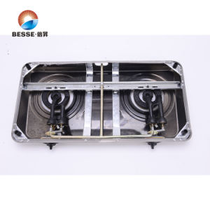 Colorful Steel Gas Stove, Two Burners, Classic Model pictures & photos