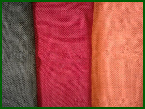 Colored Jute Fabric Roll pictures & photos