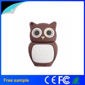 Custom Logo Soft PVC Bird Pen Drive USB 2.0 Owl Shape Flash Drive pictures & photos
