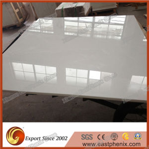 High Quality White Crystalized Glass Stone Big Slabs for Vanity Top pictures & photos