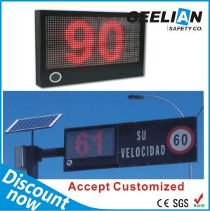 Custom Solar Radar Speed Limit Sign pictures & photos