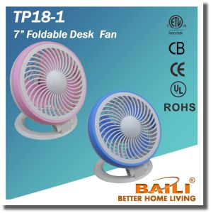 "Hot Sell 7"" Foldable Desk Fan pictures & photos"