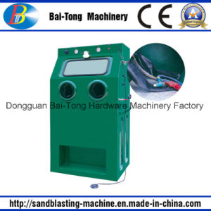 Manual Stainless Steel Products Wet Cleaning Sandblasting Machine pictures & photos