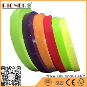 Solid Color PVC Edge Band for Cabinet/PVC Tape/PVC Strip pictures & photos