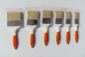 Plastic Handle Paint Brush with Bristle Material pictures & photos