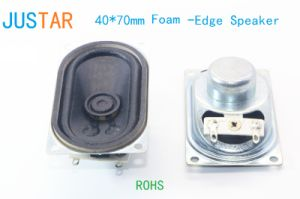 40*70mm Foam-Edge Speaker with RoHS pictures & photos