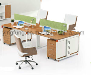 Fashion Office Partition Workstation with Metal Leg (YF-3043) pictures & photos