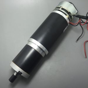 63mm High Torque DC Planetary Gearmotor, with Optical Encoder and Brake pictures & photos