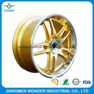 Chrome Shiny Gold Epoxy for Car Wheel Powder Coating pictures & photos