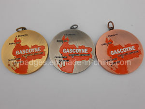 Any Shape Medal, Custom Hollow Organizational Medal (GZHY-MEDAL-006) pictures & photos
