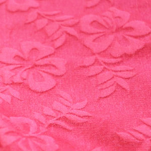 100% Polyester Beautifal Baby Iris for Ms. Skirt Coat Jacquard Fabric pictures & photos