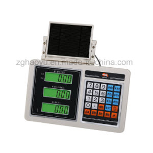 Solar Panel Stainless Steel Indicator Used in Electronic Scales pictures & photos