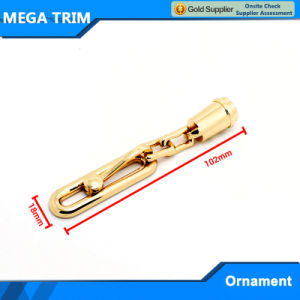 Wholesale Chain Shaped Bag Gold Metal Ornament pictures & photos