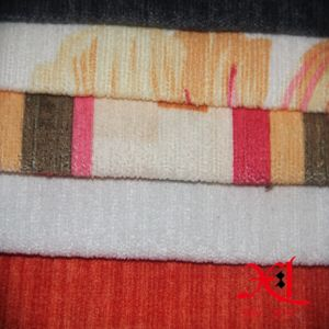 100% Polyester Jacquard Chenille Sofa Fabric Upholstery Textile Fabric pictures & photos