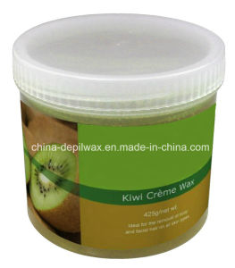 425g Jar Soft Depilatory Wax Kiwi Flavor Wax pictures & photos