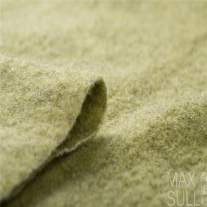 Wool /Polyester Fabric with Good Elasticity for Autumn in Green pictures & photos