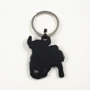 Souvenirs -Metal Spanish Bull Glitter Key Chain Ring pictures & photos