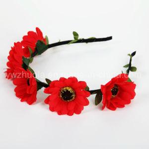Fashion Artificial Sun Flower Headband for Children pictures & photos