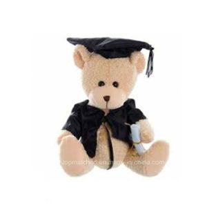 Custom Soft Stuffed Graduation Talking Teddy Bear Plush Teddy Bear Toys pictures & photos