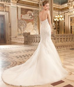 Elaborate Sophisticated Mermaid Dress Wedding with Sweetheart pictures & photos