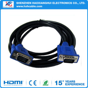 Hot Selling 5FT Nickel Plated VGA Cable pictures & photos