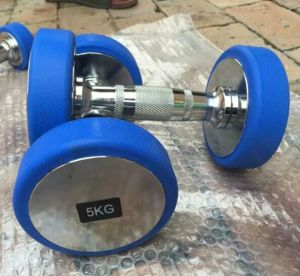 2017 Newest Rubber Coated Color Dumbbell (SA01-B) pictures & photos