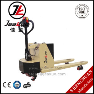 2017 China New Design 2t Semi Electric Pallet Jack for Sale pictures & photos