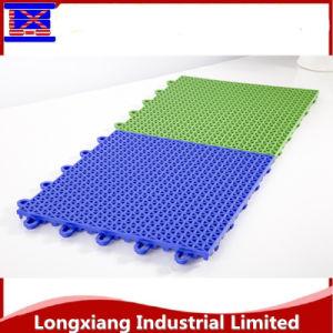 7 Colour Custom Interlocking Plastic Flooring Tile Sport Mat Sport Flooring pictures & photos