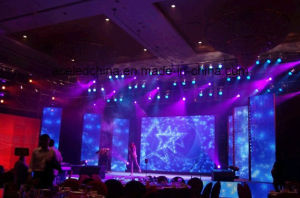 Slim Rental Curved P3 Indoor LED Display Screen pictures & photos