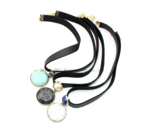 Fashion Jewelry Accessories Turquoise Choker Necklace pictures & photos