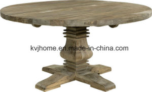 Vintage Industrial Recalimed Wood Furniture Recycled Elm Dining Table pictures & photos