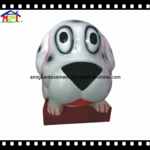 Good Quality of Fiberglass Ride Small Kiddie Ride Happy Squirrel pictures & photos