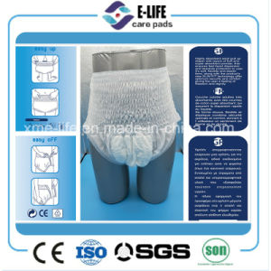 New V Crotch Pant Style XL Adult Diaper Pull up Manufacturer pictures & photos