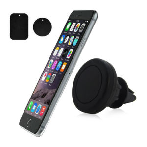 3 in 1 High-End Multiple Car Air Vent Mount Magnetic Mobile Phone Car Holder for iPhone Samsung Smart Phone HTC GPS pictures & photos