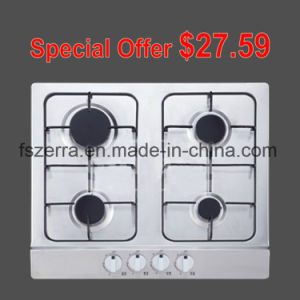 Cheapest Price Stainless Steel 4 Burners Gas Cooker S4501b pictures & photos