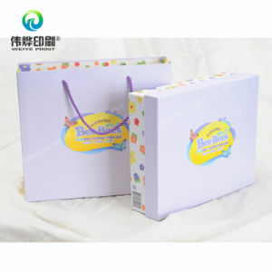 Nylon Ropes Handle Printing Paper Packing Gift Bag pictures & photos
