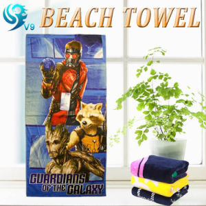Square Shape Cotton Beach Towel pictures & photos