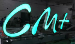 High Iluminunce Acrylic Alphabet LED Sign Letters Acrylic Front Lit LED Light Box Letter pictures & photos